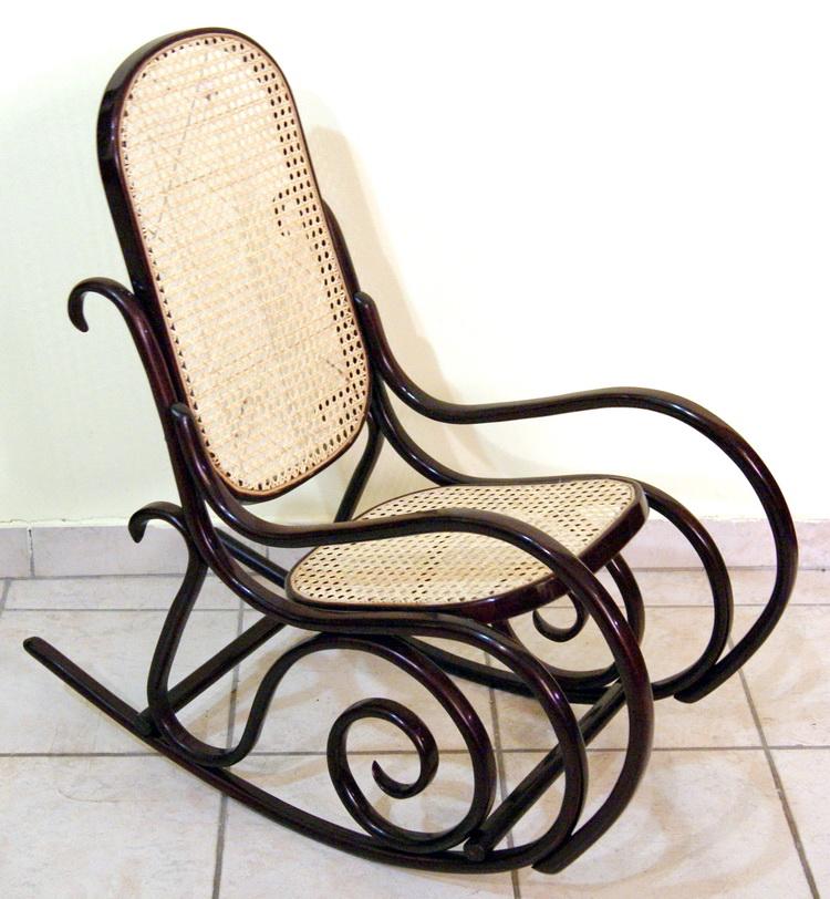 thonet jugendstil kinder schaukel stuhl art nouveau rocking chair um1900 nr 7010 ebay. Black Bedroom Furniture Sets. Home Design Ideas