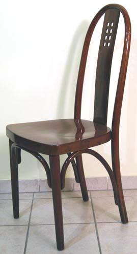 thonet jugendstil sessel josef hoffmann art nouveau chair n 636 um 1910 top ebay. Black Bedroom Furniture Sets. Home Design Ideas