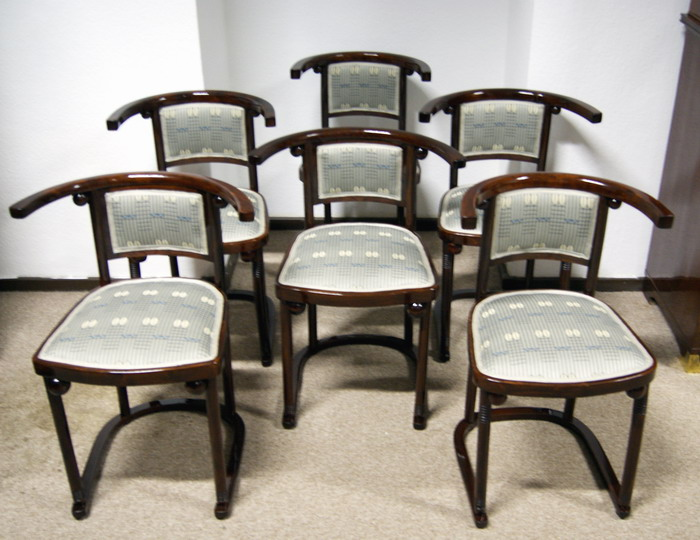 thonet sessel art nouveau chair josef hoffmann cabaret. Black Bedroom Furniture Sets. Home Design Ideas