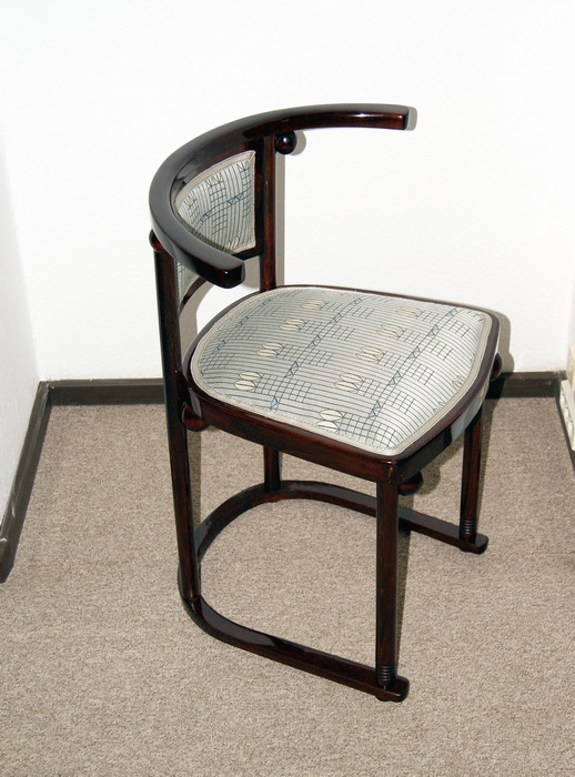 thonet sessel art nouveau chair josef hoffmann cabaret fledermaus um 1910 ebay. Black Bedroom Furniture Sets. Home Design Ideas